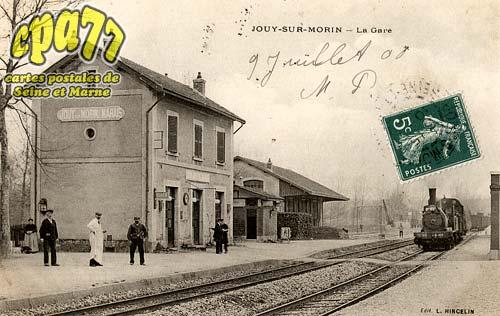 Jouy Sur Morin - La Gare