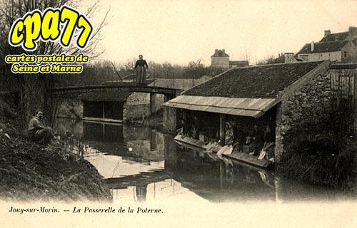 Jouy Sur Morin - La Passerelle de la Poterne