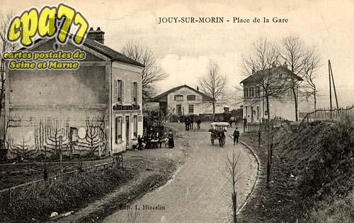 Jouy Sur Morin - Place de la Gare