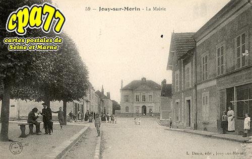 Jouy Sur Morin - La Mairie (en l'état)