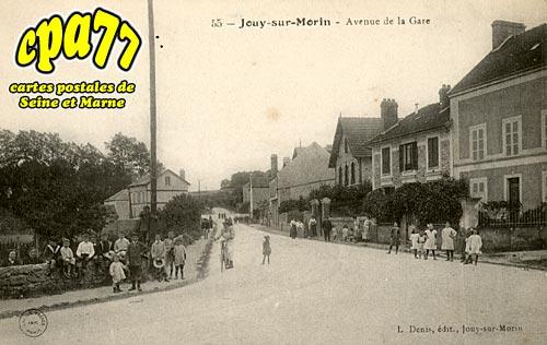 Jouy Sur Morin - Avenue de la Gare