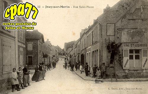 Jouy Sur Morin - Rue Saint-Pierre