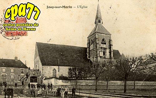 Jouy Sur Morin - L'Eglise