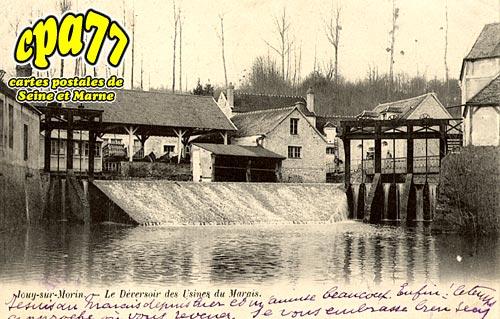 Jouy Sur Morin - Le Déversoir des Usines du Marais
