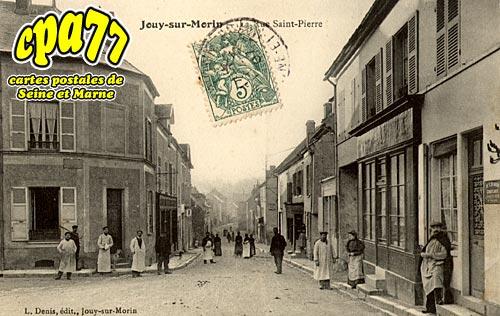 Jouy Sur Morin - La Rue Saint-Pierre