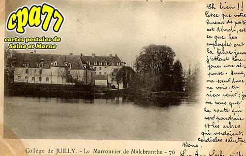 Juilly - Collège - Le Marronnier de Malebranche