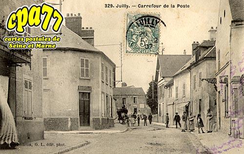 Juilly - Carrefour de la Poste