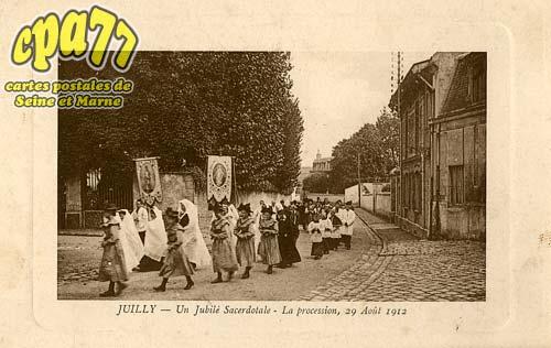 Juilly - Un Jubilé Sacerdotale - La procession, 29 Août 1912