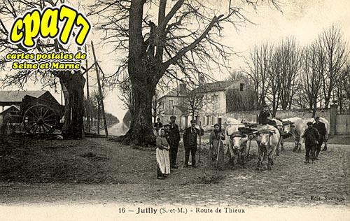 Juilly - Route de Thieux
