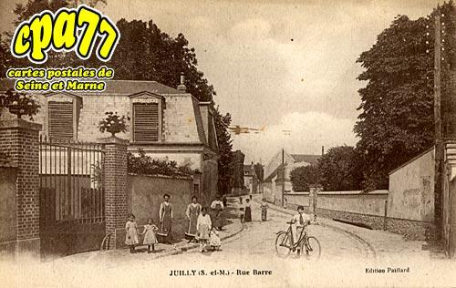 Juilly - Rue Barre