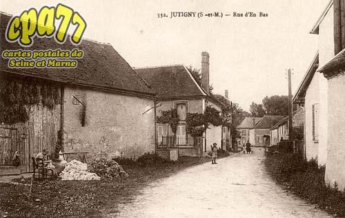 Jutigny - Rue d'en Bas