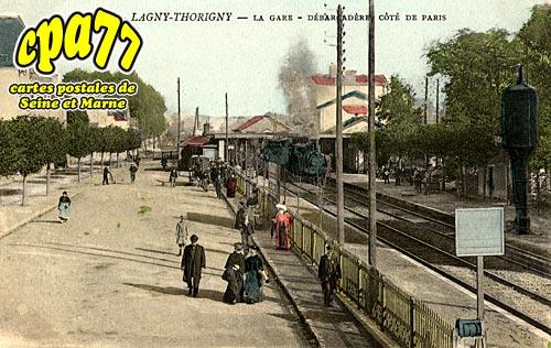 Lagny Sur Marne - La Gare - débarcadère côté de Paris