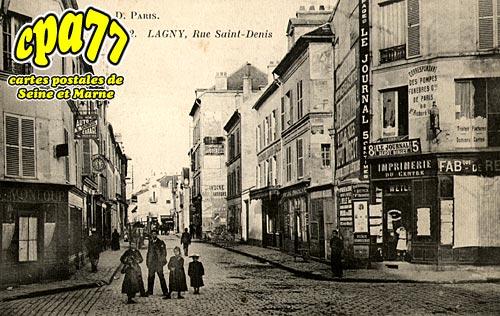Lagny Sur Marne - Rue Saint-Denis