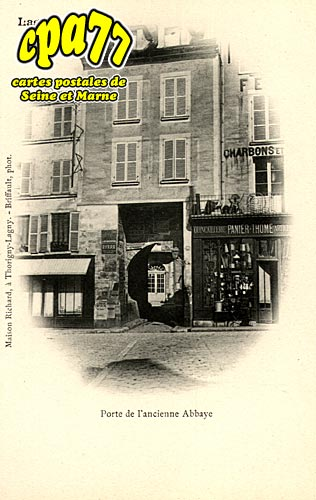 Lagny Sur Marne - Porte de l'ancienne Abbaye