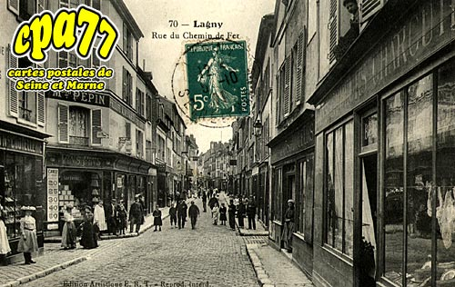 Lagny Sur Marne - Rue du Chemin de Fer