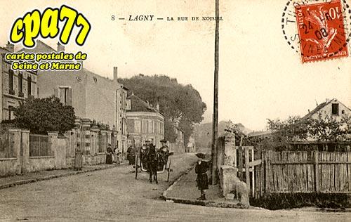 Lagny Sur Marne - La Rue de Noisiel