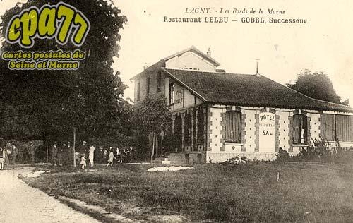 Lagny Sur Marne - Les Bords de la Marne - Restaurant Leleu - Gobel, Successeur