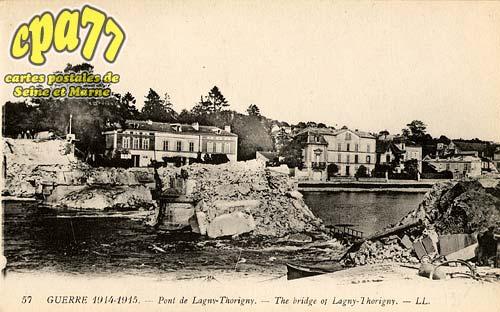 Lagny Sur Marne - Pont de Lagny-Thorigny - The Bridge of Lagny-Thorigny
