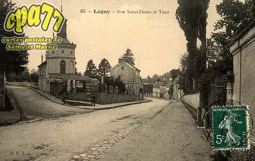 Lagny Sur Marne - Rue Saint-Denis et Tour
