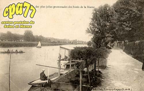 Lagny Sur Marne - Une des plus jolies promenades des bords de la Marne