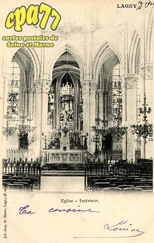 Lagny Sur Marne - Eglise - Intérieur