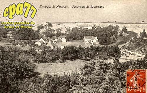 Larchant - Environs de Nemours - Panorama de Bonnevaux
