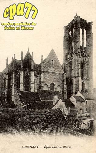 Larchant - Eglise Saint-Mathurin