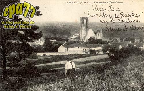 Larchant - Vue générale (Côté Ouest)