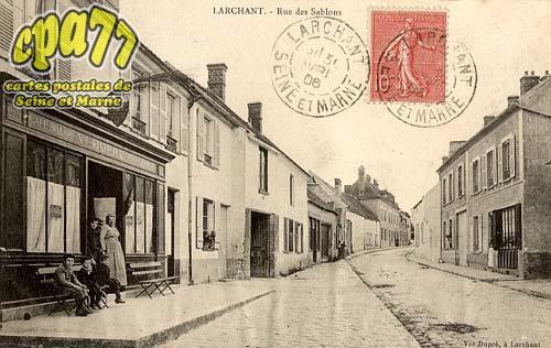 Larchant - Rue des Sablons