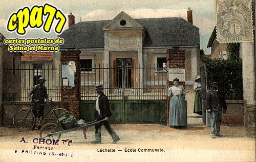 Lechelle - Ecole Communale