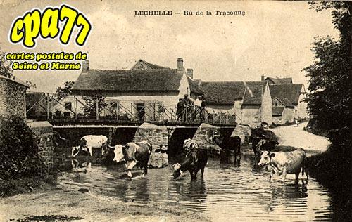 Lechelle - Rû de la Traconne
