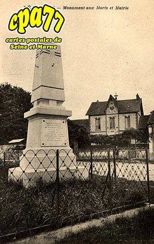 Lechelle - Monument aux Morts