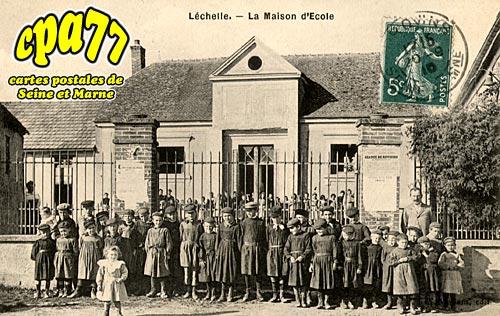 Lechelle - La Maison d'Ecole