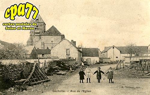 Lechelle - Rue de l'Eglise