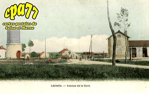 Lechelle - Avenue de la Gare
