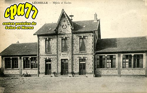Lechelle - Mairie et Ecoles