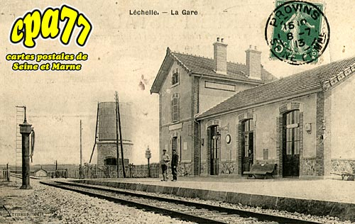 Lechelle - La Gare