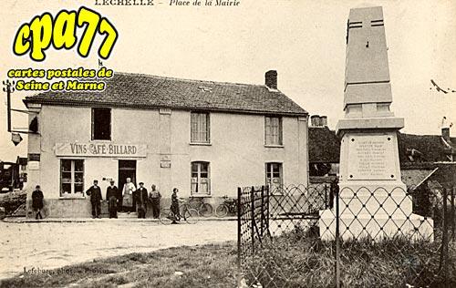 Lechelle - Place de la Mairie