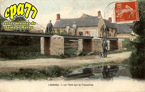 Lechelle - Le Pont sur la Traconne