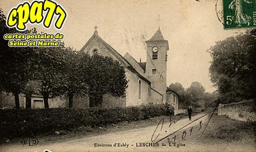 Lesches - L'Eglise