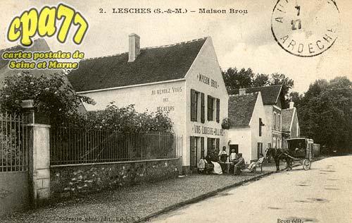 Lesches - Maison Brou
