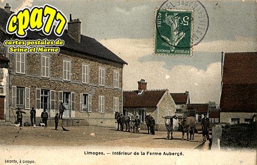 Limoges Fourches - Intérieur de la Ferme Aubergé
