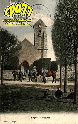 Limoges Fourches - L'Eglise