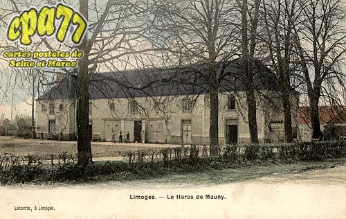 Limoges Fourches - Le Haras de Mauny
