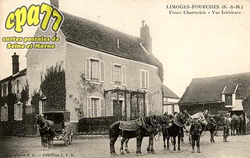 Limoges Fourches - Ferme Chanteclair - Vue Intérieure