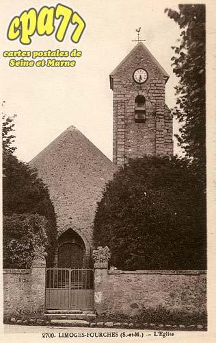 Limoges Fourches - L'église