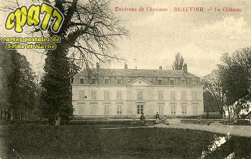 Liverdy En Brie - Environs de Chaumes : Beauvoir - Le Château