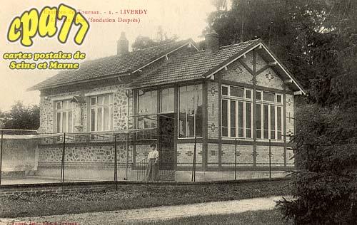 Liverdy En Brie - Environs de Tournan (S.-et-M.) - Liverdy - L'Ecole libre (fondation Desprès)