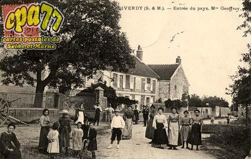 Liverdy En Brie - Entrée du pays. Maison Geoffroy