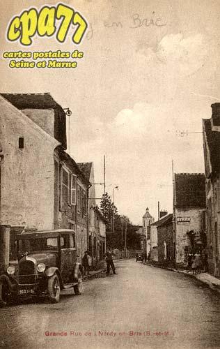 Liverdy En Brie - Grande Rue de Liverdy-en-Brie